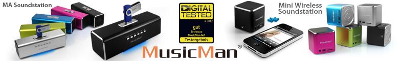 Bild Musicman Banner Produktübersicht
